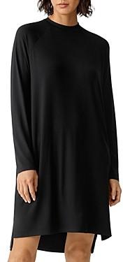 Eileen Fisher Crewneck Jersey Dress