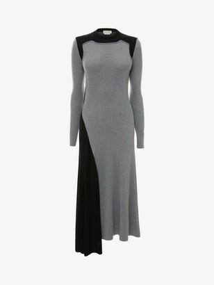 Alexander McQueen Hybrid Knit Midi Dress
