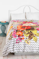 Urban Outfitters Plum & Bow Graphic Bouquet Duvet Cover