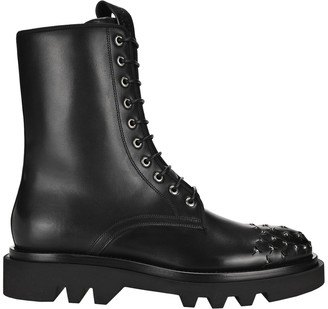 Givenchy Studded Combat Boots
