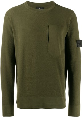 Stone Island Shadow Project Knitted Sweatshirt