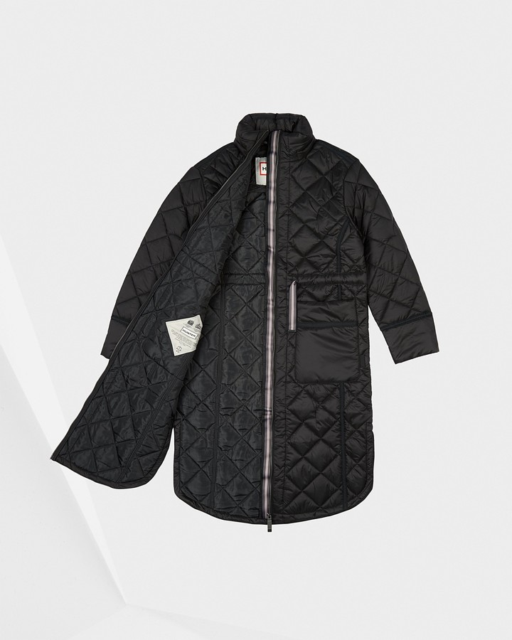 Thumbnail for your product : Hunter Women's Refined Insulated Quilted Long Coat