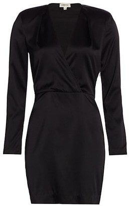 L'Agence Kailyn Deep-V Sheath Dress
