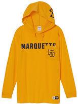 PINK Marquette University Campus Hoodie Tee