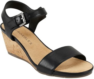 Aerosoles Aersoles Mid Wedge Sandals - Carago