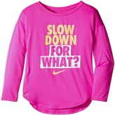 Nike Slow Down For What Dri-FIT Tee (Little Kids)