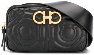 Salvatore Ferragamo Logo Stitched Belt Bag