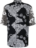 McQ by Alexander McQueen printed shirt - men - Viscose - 48
