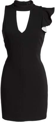 Adelyn Rae Ruffle Choker Dress
