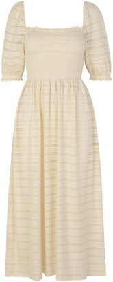 Sams?E Sams?E Pia Puff Sleeve Organic Cotton Dress