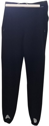 Sergio Tacchini Black Trousers for Women