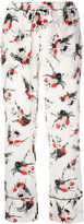 Marni floral printed pyjama trousers - women - Silk - 36