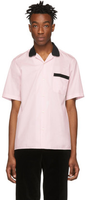 Cobra S.C. Black and Pink Lounge Short Sleeve Shirt