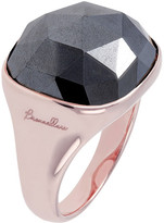 Bronzallure Hematite Square Cocktail Ring