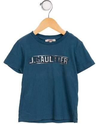 Junior Gaultier Boys' Logo Casual Shirt