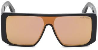 Tom Ford Atticus Geometric Shield Sunglasses