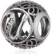 Pandora Sterling Vintage U Charm 791865CZ