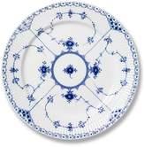 Royal Copenhagen Blue Fluted Half Lace Lunch/Dessert Plate
