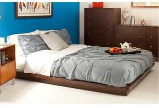 Calvin Platform Bed Urbangreen Furniture Size: Full, Wood Veneer: Painted Eco-MDF, Color: Orange