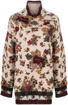 Antonio Marras oversized floral sweater