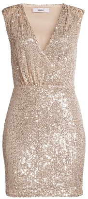 LIKELY Brienne Sequin Mini Dress