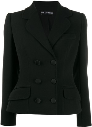 Dolce & Gabbana Double-Breasted Structured Jacket