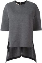 Marni draped hem T-shirt
