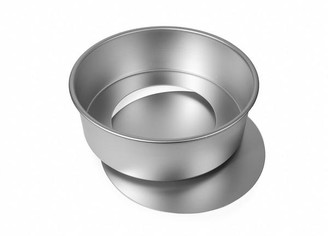Alan Silverwood - 12 X 4 In Loose Base Cake Pan - Silver