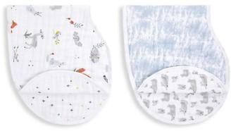 Aden Anais Baby's 2-Pack Naturally Muslin Bibs