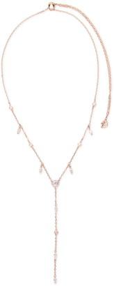 Swarovski Crystal Embellished Chain Y Necklace