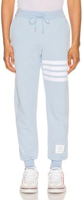 Thom Browne Classic Sweatpants in Light Blue   FWRD