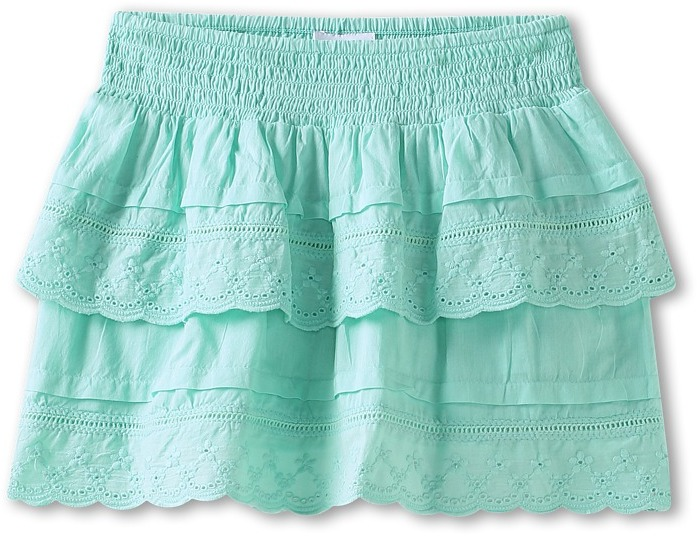 O'Neill Kids - Chatty Skirt (Big Kids) (Brook Green) - Apparel