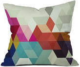 DENY Designs Three Of The Possessed Modele 7 Throw Pillow
