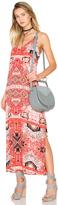 Eight Sixty Moroccan V-Neck Maxi Dress
