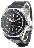 Tudor 'Black Bay' analog watch