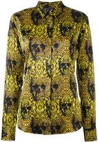Philipp Plein Shawn shirt - women - Silk/Spandex/Elastane - L