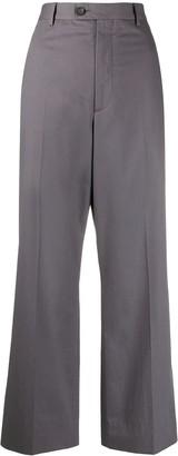 Maison Margiela Cropped Wide-Leg Trousers