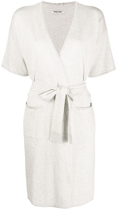 Max & Moi Short Sleeve Midi Cardigan