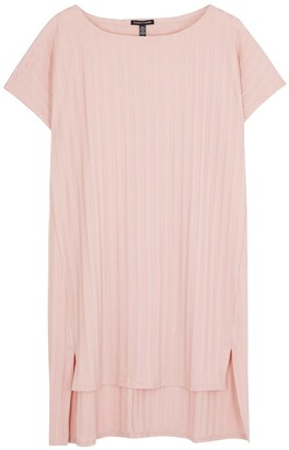 Eileen Fisher Light pink striped Tencel-blend tunic