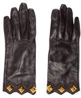 Hermes Medor Studded Gloves