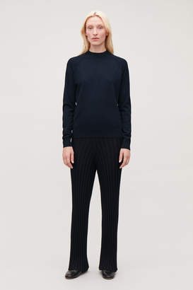 Cos POINTELLE-DETAILED KNITTED TOP