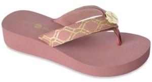 Lindsay Phillips Taylor-Tu Wedge Flip Flop Sandal Women's Shoes