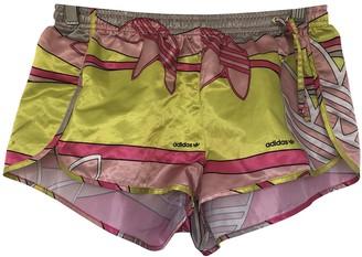 adidas Pink Polyester Shorts