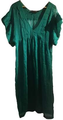 Isabel Marant Green Silk Dresses