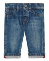 Gucci Baby's Washed Cuffed Jeans