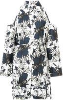 Nina Ricci flower print shirt dress