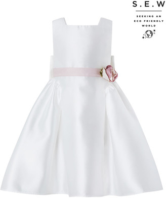 Under Armour Pearl Duchess Occasion Dress in Recycled Polyester Ivory