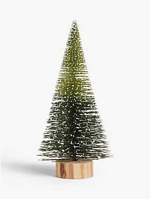 John Lewis & Partners Garden Retreat Conical Christmas Tree Standing Decoration, Medium
