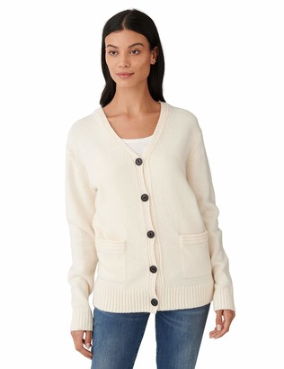 Lucky Brand Women's Long Sleeve Button Front Classic Cardigan