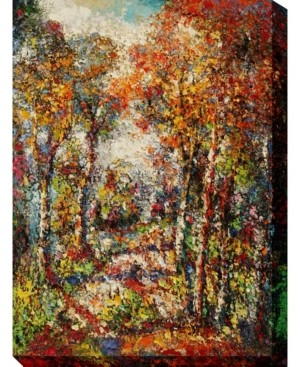 """West of the Wind Forest Outdoor Wall Art, 30"""" x 40"""""""